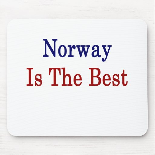 Norway Is The Best Mouse Pad