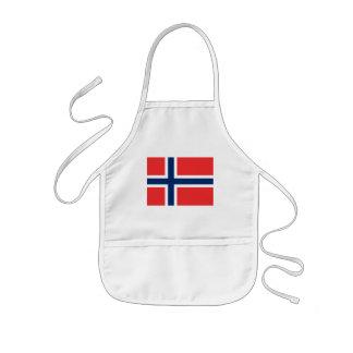 norway kids' apron
