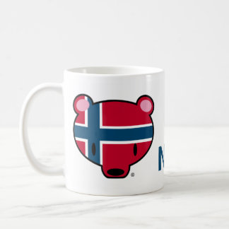 Norway kuma-chan coffee mug