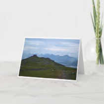 Norway Landscape Blank Greeting Card