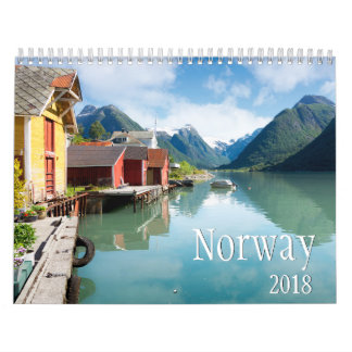 Norway landscape photography calendar 2018