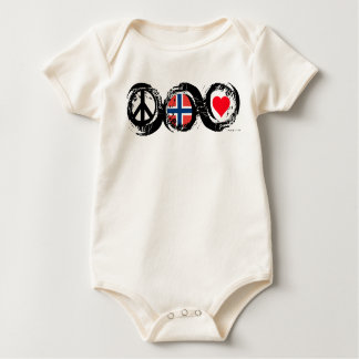Norway Love Peace T-Shirt 5