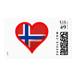 Norway Love Postage Stamps