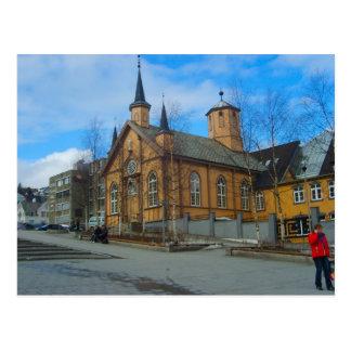 Norway, Lutheran Church Postcard