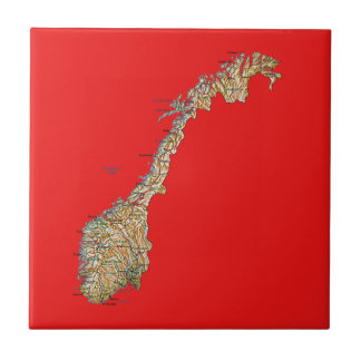Norway Map Tile