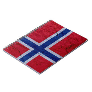 Norway Marble Stone Flag Notebook