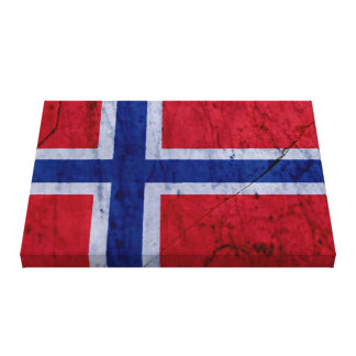 Norway Marble Stone Wrapped Canvas Gallery Wrap Canvas