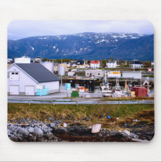 Norway, Marina with fishing vessels Mouse Pad