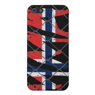 Norway MMA black iPhone 4 case