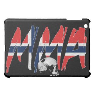 Norway MMA Skull Black iPad Case