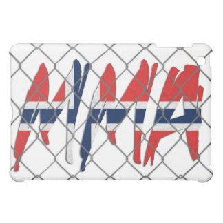 Norway MMA white iPad case