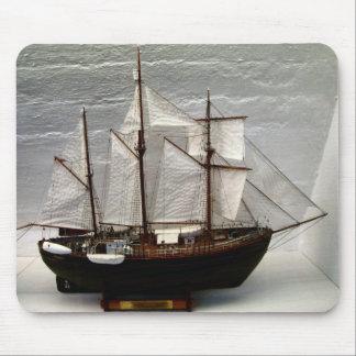 Norway, Model of Fram, Nansen's polar voyages Mouse Pad