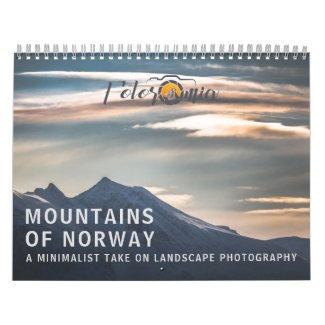 Norway Mountains 2021 Calendar