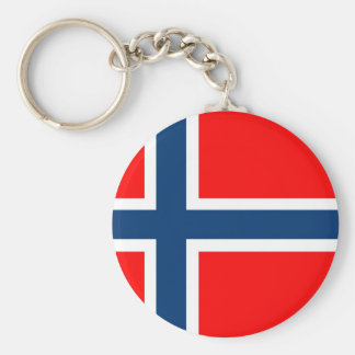 Norway National Flag Keychain