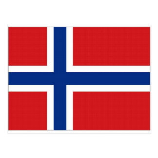 Norway National Flag Post Card