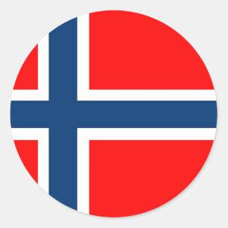 Norway National Flag Sticker