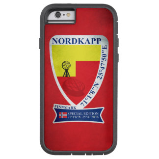 NORWAY NORDKAPP LIMITED EDITION CUSTOM COLORS TOUGH XTREME iPhone 6 CASE