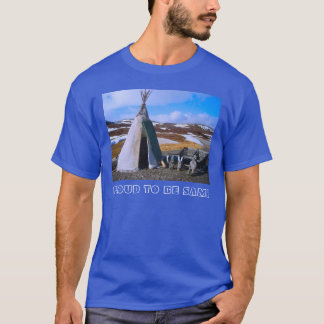 Norway, Norge,Sami settlement in Lapland T-Shirt