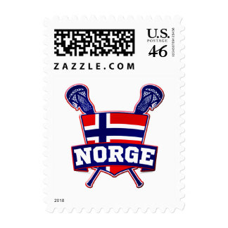 Norway Norsk Lacrosse Stamps