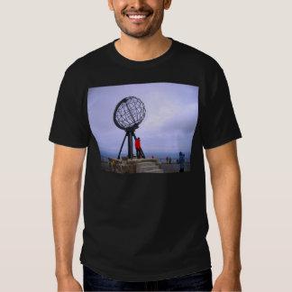 Norway, North Cape, globe symbol Shirt