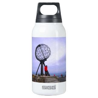 Norway, North Cape, globe symbol Thermos Bottle