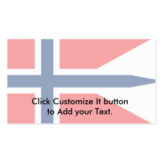 Norway Norway flag Business Card Template