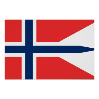 Norway, Norway flag Poster