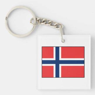 Norway - Norwegian Flag Keychain
