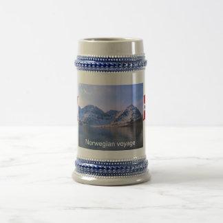Norway, Norwegian voyage Beer Stein
