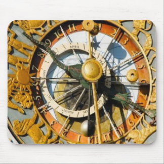 Norway, Oslo City Hall, astronomical clock Mouse Pad