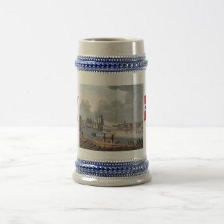 Norway Oslo harbour 18th century Mugs