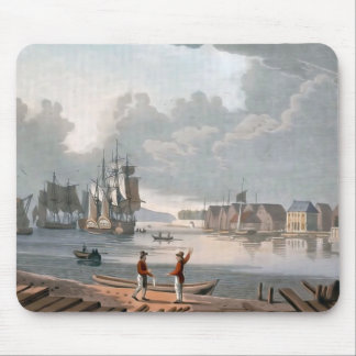 Norway,  Oslo, Harbour, Vintage image Mouse Pad
