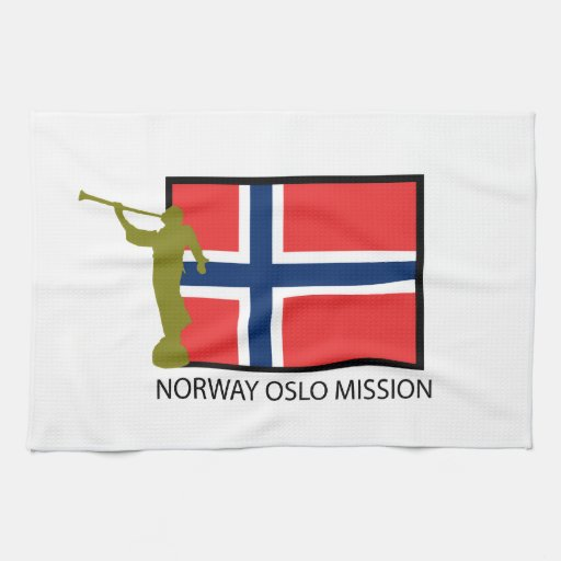 NORWAY OSLO MISSION LDS CTR TOWELS