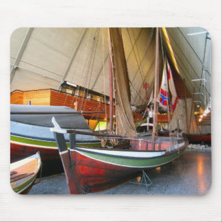 Norway,  Oslo, Traditional boats,Fram Museum Mouse Pad