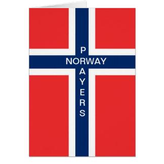 NORWAY PRAYERS CARD