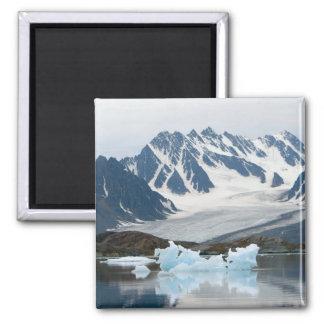 Norway, Receding Glacier and iceberg Magnet