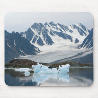 Norway, Receding Glacier and iceberg Mouse Pad