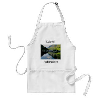 Norway Reflections Adult Apron