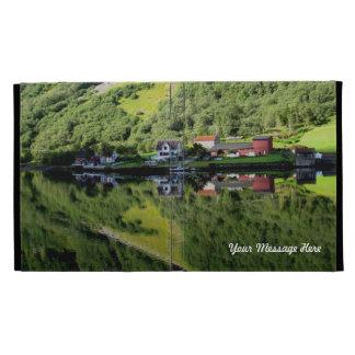Norway Reflections iPad Folio Case