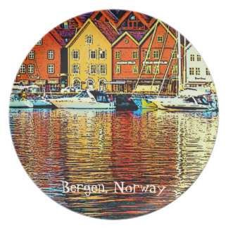 Norway Reflections Plate