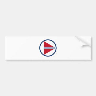 Norway Roundel Bumper Sticker