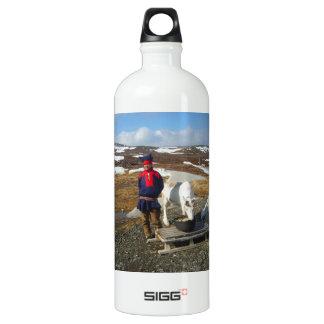 Norway, Sami settlement in Lapland Aluminum Water Bottle