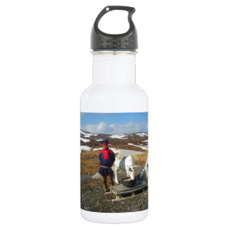 Norway, Sami settlement in Lapland Stainless Steel Water Bottle
