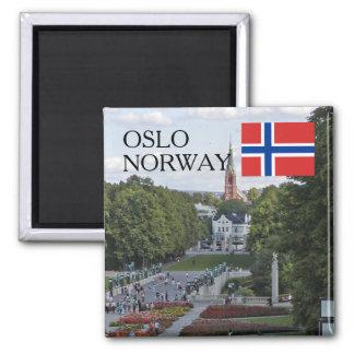 Norway Scandinavia Oslo Vigeland travel souvenir Magnet