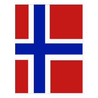 Norway Scandinavia Postcard