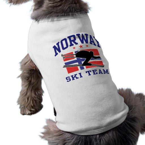 Norway Ski Team Dog Clothing