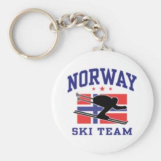 Norway Ski Team Keychain