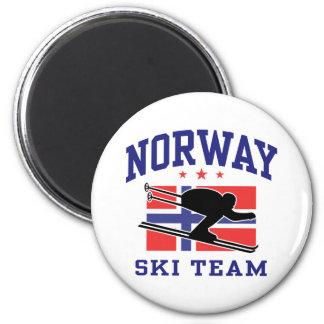 Norway Ski Team Magnet