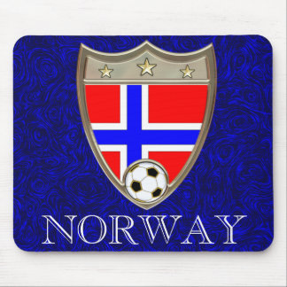 Norway Soccer Mouse Pad