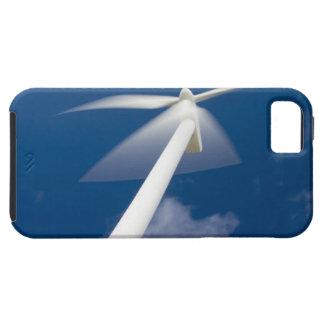 Norway, Sogn og Fjordane. Wind mill at Kråkenes. iPhone 5 Case